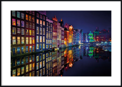 Amsterdam Colors Poster