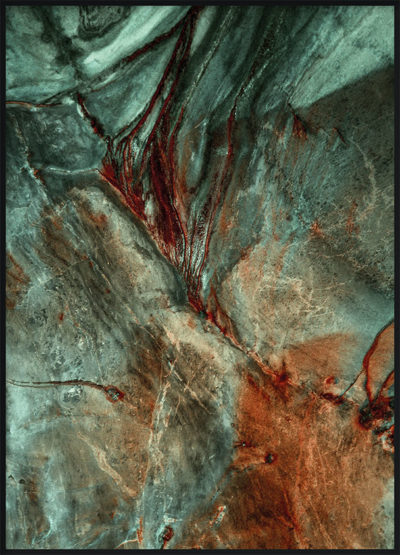 Abstract Stone Poster