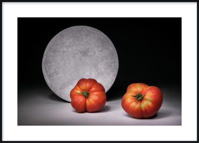 Full Moon Tomatoes Poster