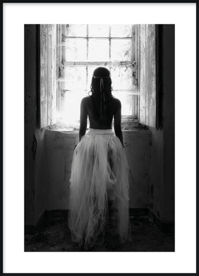 Girl in Window Poster