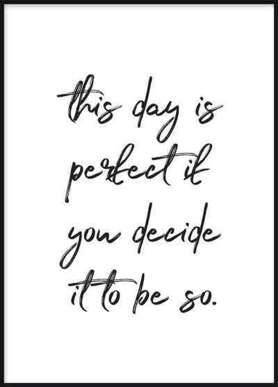 Perfect Day Poster
