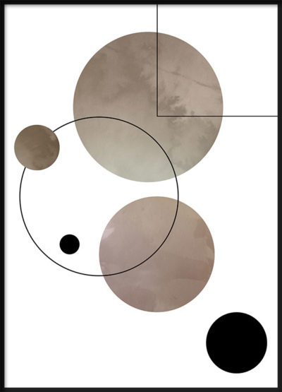Abstract Series 1 Poster