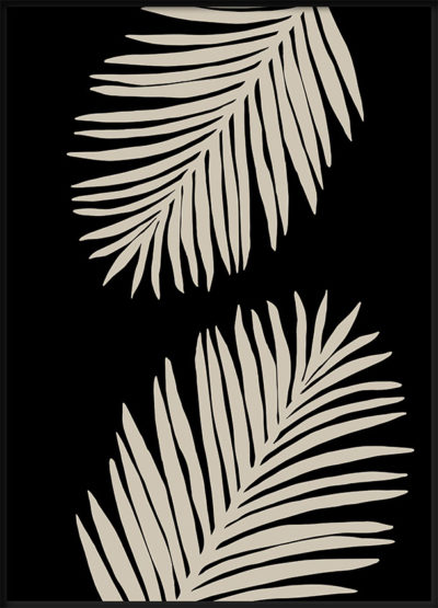 Palm Leaves Poster